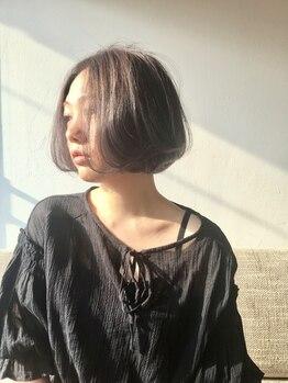 ミチカケ(michikake)の写真/話題のイルミナカラーで透明感あふれるツヤ髪に…★赤味を抑えたアッシュ系や外国人風カラーも思いのまま。