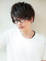 アフロート ディル(AFLOAT D'L)AFLOAT《矢田菜津紀》メンズ好感度ビジネスメガネ◎髪型