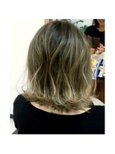 ヘアステージ ラヴァフロー(Hair stage Loverflow)グラデーションカラー