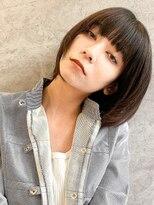 エイチスタンド 渋谷(H.STAND)大人かわいい20代女性にオススメ◎小顔ワンサイドショート/Shuri