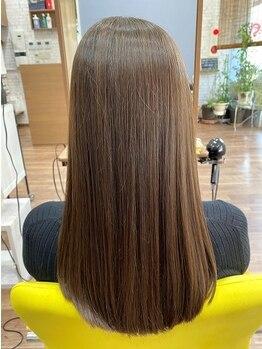 フロックス(phlox)の写真/髪質改善トリートメント【Pim濃密ヘアエステ】でパサつき髪も美髪に近づける♪通うたび今よりもっと美しく