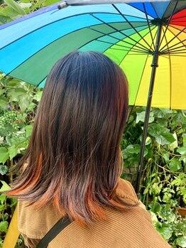 ビードロ 下北沢の写真/【ダメージレスに色で遊ぶ♪】4stepトリートメント×ホームケアでダメージレスなのにカラーを楽しめる☆