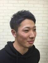 メンズ レオ 天六店(men's LEO)【ビジカジ】ワイルドツーブロック刈り上げネープレス