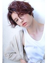 plumyイルミナカラーxデジタルパーマxヘルシーレイヤーx黒髪
