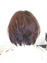 【AMAZING HAIR美沢店/桜井】美シルエット 内巻きボブ