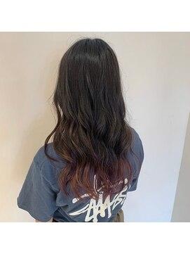 ネオヘアー 曳舟店(NEO Hair)期間限定で楽しめる裾カラー☆(曳舟)