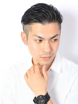 """グロウ博多(Growth)の写真/≪男性限定≫講師も務める実力派stylist達が印象UP×トレンドをしっかり押さえた""""デキる男""""をプロデュース"""