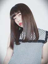 プレゼンス ブレインズ 下北沢(PRESENCE BRAINS)『PRESENCE BRAINS』サラ艶髪ストレート