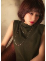 オゥルージュ(Au-rouge noma)【aurouge noma 石井美紗紀】 小顔 ナチュラルボブ 秋色メイク
