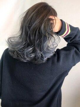 セシルヘアー 広島駅前店(Cecil hair)グラマラスウェーブバレイヤージュセミディ