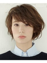 リデザインヘア ミュウノ(Re design hair miuno)マニッシュ系アシメボッブ