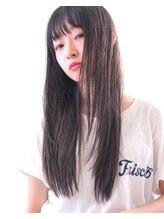 オプスヘアーフェリース(OPS HAIR feliz)黒髪×ストレート×ロング stylist 細野 敬亮