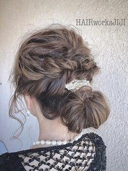 ヘアーワークス ジジ(HAIR works JIJI)の写真/大人女性の為のワンランク上プライベート空間。洗脳された技術と丁寧なカウンセリングで理想のスタイルに☆