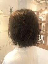 リリー ヘアーデザイン(Lilly hair design)ぱつっとボブ×ナチュラルアッシュ