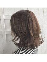 クレーデヘアーズ 相田店(Crede hair's)#外ハネミディ