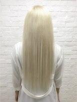 ヘアサロン エフ(HairSalon F)ホワイトゴールドエクステ