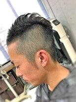 【CAN】 刈り上げモヒカンスタイル