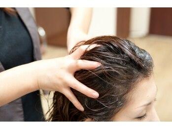 ラルーナオズ(LaLuna OZ)の写真/ダメージリセットは頭皮のケアが必須!!自分へのご褒美に《LaLuna OZ》のヘッドスパを♪