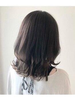 """オンプ(onpu)の写真/《2週間経った後でも""""今までと全然違う!""""》カラーにも髪質にもこだわるならこちらのメニュー!"""