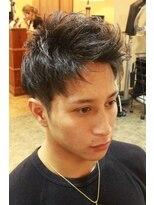 ディスパッチヘアー 甲子園店(DISPATCH HAIR)2ブロック×マッシュ× アップバンクスタイル