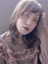 リリー(Lily)【Lily】伸ばしかけでもお洒落♪毛先ワンカールのミディ==野田