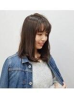 エイムヘアメイク 舟入店ワンカール+ベージュカラー