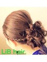 リブヘアー ドット(LiB hair.)Partyhair✩