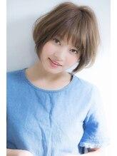 ウィービーパセリ(webeparsley by Johji Group)ふんわりナチュラルショートボブ☆小顔(富樫直樹)