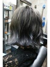 フェイスヘアーデザイン(Faith Hair Design)シルバーグラデーション