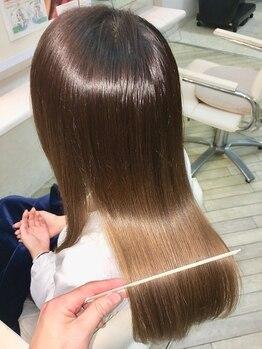 ヘアーカスタム(Hair Custom)の写真/【縮毛矯正専門店】髪質の見極め、薬剤の選定、アイロン技術!髪のクセで、もう悩まないで!!【千葉】