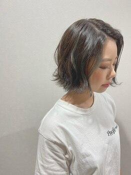 ヘアーリゾート モアナ(hair Resort moana)の写真/【本八幡駅徒歩5分】バッサリ切りたい人も少し変化したい人も…ハンドブローでまとまるスタイルに!