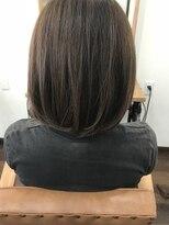 ヘアー チクタク(Hair Ciku-taku)ナチュラルボブ×イルミナカラー