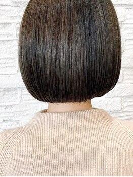 """レーベン(Leben)の写真/髪質に合わせた""""Aujua""""4Stepトリートメント取扱いSalon―。毛先までまとまるうる艶美髪を創ります♪"""