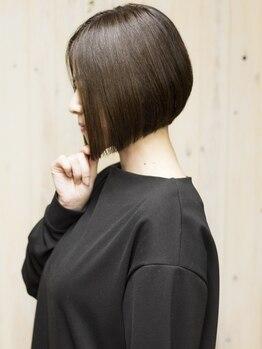 ビスカ(Bisca)の写真/東京有名サロンで磨き上げた魅力を引き出す似合わせカットに絶対の自信あり!カットで失敗したくない方必見
