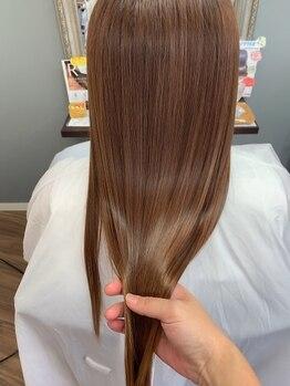 ヘアーアンドメイク カナン(HAIR&MAKE CANAAN)の写真/度重なるカラーやパーマで傷んだダメージ毛を≪CANAAN≫の髪質改善メニューで大解決!!