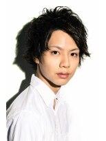 ミンクス ハラジュク(MINX harajuku)【MINX】メンズ 藤ヶ谷太輔さん風セクシーアップバングショート