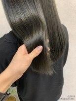フローレス バイ ヘッドライト 三鷹店(hair flores by HEADLIGHT)クリアグレージュ×髪質改善tokio