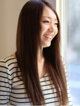 """クオラヘアーイノベーション(CUORA Hair Innovation)の写真/東京でも大人気!雑誌モデルも愛用中の最先端""""マイクロエクステ""""☆編み目が全然目立たないと人気!!"""