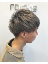 【rocks】gray beige