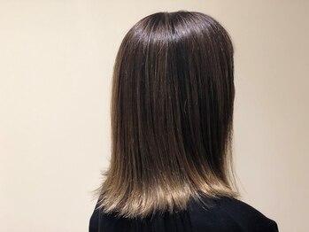 髪意匠(カミイショウ)の写真/一人ひとりの肌の色をキレイに魅せるカラー配合技術が【髪意匠】ならでは!!ツヤ感×色味もしっかり両立◎