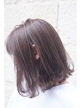ティンク 横須賀中央(Tink)ラベンダーアッシュ×切りっぱなしボブ◎
