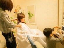 カバーヘア ブリス 北浦和西口店(COVER HAIR bliss)の雰囲気(お子様と一緒の来店◎な個室♪SPAも個室で♪要TEL予約★北浦和)