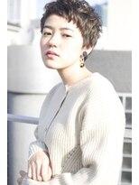 レンジシアオヤマ(RENJISHI AOYAMA)シルエットカーリーショート【池田涼平】