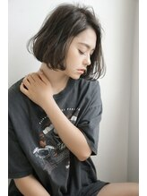 アフロディーテ ヘアーアンドトリートメント 京橋店(afrodite hair&treatment)【afrodite 京橋】ゆるふわクールボブ
