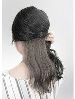 【AUBE HAIR】グレージュ_インナーカラー