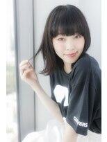 ログヘアー 大塚北口店(L.O.G hair)黒髪外ハネ【大塚/池袋/新大塚】