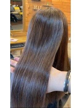 ヘアーサロン ミル(hair salon MiL)の写真/気になる白髪もしっかり馴染む◎【白髪ハイライトぼかし】で、大人トレンドなカラーstyleが楽しめます!