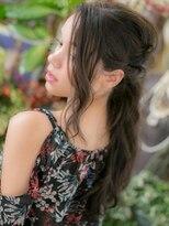 *+COVER HAIR+*…こなれ感…色っぽヘアアレンジa
