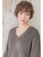 たさわ堂Amoデキル女性のショートパーマ◆小顔◆計算された無造作スタイル