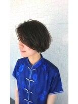 テラスヘア(TERRACE hair)スモーキーショートボブ